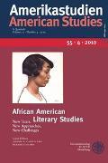 Cover-Bild zu Carpio, Glenda R. (Hrsg.): African American Literary Studies
