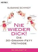 Cover-Bild zu Schmidt, Susanne: Nie wieder dick!
