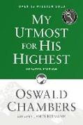 Cover-Bild zu Chambers, Oswald: My Utmost for His Highest: Updated Language Easy Print Edition