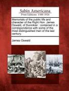 Cover-Bild zu Oswald, James: Memorials of the Public Life and Character of the Right Hon. James Oswald, of Dunnikier: Contained in a Correspondence with Some of the Most Distingui
