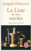 Cover-Bild zu Delacourt, Grégoire: La liste de mes envies