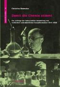 Cover-Bild zu Damit die Chemie stimmt von Ratmoko, Christina