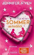 Cover-Bild zu Für einen Sommer unsterblich von Niven, Jennifer
