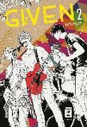 Cover-Bild zu Kizu, Natsuki: Given 02
