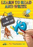 Cover-Bild zu Battan, Alessandro: Learn to Read and Write 4 year old