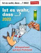 Cover-Bild zu Stein, Martina: Ist es wahr, dass ...? Kalender 2022