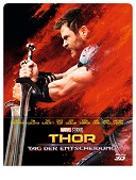 Cover-Bild zu Waititi, Taika (Reg.): Thor 3 - Tag der Entscheidung - 3D+2D - Steelbook - limititerte Auflage