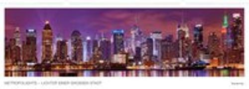 Cover-Bild zu Metropolights - Lichter einer großen Stadt, Kalender