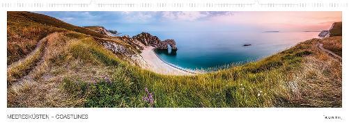 Cover-Bild zu Meeresküsten - Coastlines Kalender