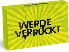 Cover-Bild zu Lindau, Veit: Werde Verrückt - Set 33 Karten in Klappschachtel