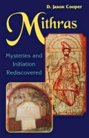 Cover-Bild zu Cooper, D. Jason: Mithras: Mysteries and Initiation Rediscovered