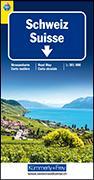 Cover-Bild zu Schweiz TCS 2021 Strassenkarte. 1:301'000