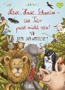 Cover-Bild zu Löwe, Hase, Schwein - ein Tier passt nicht rein! von Jessler, Nadine