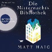 Cover-Bild zu Die Mitternachtsbibliothek (Gekürzte Lesung) (Audio Download)