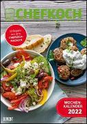 Cover-Bild zu CHEFKOCH Wochenkalender 2022 - Küchen-Kalender - mit Notizfeld - pro Woche 1 Rezept - Format DIN A4 - Spiralbindung