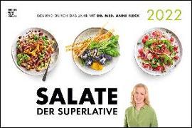 Cover-Bild zu Salate der Superlative 2022 - Bild-Kalender 49,5x33 - Küchen-Kalender - gesunde Ernährung - leckere Gerichte
