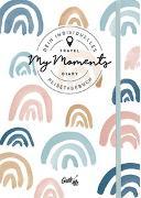 """Cover-Bild zu GuideMe TravelDiary """"Rainbows"""": Dein individuelles Reisetagebuch mit freien Seite, Zeigewörterbuch, kleinen Extras & Stickerbogen (Dumont GuideMe)"""