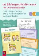 Cover-Bild zu Die Bildergeschichten-Kartei für Grundschulkinder von Iven, Wiebke