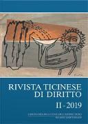 Cover-Bild zu Rivista ticinese di diritto II-2019