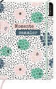 Cover-Bild zu myNOTES Notizbuch A5: Momentesammler - notebook medium, dotted - für Träume, Pläne und Ideen / ideal als Bullet Journal oder Tagebuch