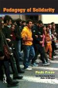 Cover-Bild zu Freire, Paulo: Pedagogy of Solidarity (eBook)