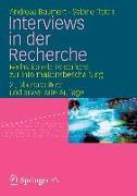 Cover-Bild zu Baumert, Andreas: Interviews in der Recherche