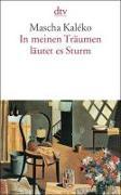 Cover-Bild zu Kaléko, Mascha: In meinen Träumen läutet es Sturm