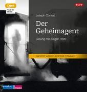 Cover-Bild zu Conrad, Joseph: Der Geheimagent (1 mp3-CD)