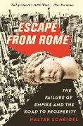 Cover-Bild zu Scheidel, Walter: Escape from Rome
