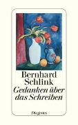 Cover-Bild zu Schlink, Bernhard: Gedanken über das Schreiben