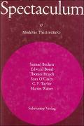 Cover-Bild zu Beckett, Samuel: Spectaculum 37