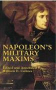 Cover-Bild zu Bonaparte, Napoleon: Napoleon's Military Maxims