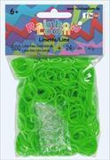 Cover-Bild zu Rainbow Loom Gummibänder Limettengrün Jelly