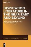 Cover-Bild zu Jiménez, Enrique (Hrsg.): Disputation Literature in the Near East and Beyond