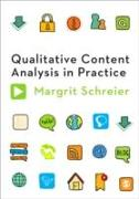 Cover-Bild zu Schreier, Margrit: Qualitative Content Analysis in Practice