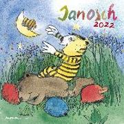 Cover-Bild zu Janosch (Künstler): Janosch 2022 - Broschürenkalender 30x30 cm (30x60 geöffnet) - Kalender mit Platz für Notizen - inkl. Poster - Bildkalender - Wandplaner - Alpha Edition