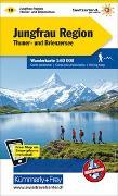 Cover-Bild zu Jungfrau-Region Wanderkarte Nr. 18. 1:60'000 von Hallwag Kümmerly+Frey AG (Hrsg.)