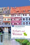 Cover-Bild zu Erfurt und Weimar (eBook) von Poppe, Birgit