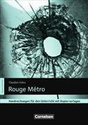Cover-Bild zu Rouge Métro. Handreichungen für den Unterricht. Mit Kopiervorlagen