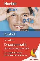 Cover-Bild zu Kurzgrammatik Deutsch English Edition (eBook) von Reimann, Monika