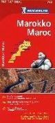 Cover-Bild zu Michelin Nationalkarte Marokko 1 : 1.000 000 von Michelin (Hrsg.)