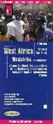 Cover-Bild zu Reise Know-How Landkarte Westafrika, Küstenländer (1:2.200.000) : von Senegal bis Nigeria. 1:2'200'000 von Peter Rump, Reise Know-How Verlag