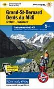 Cover-Bild zu Grand-St-Bernard - Dents du Midi, Verbiez, Ovronnaz Wanderkarte Nr. 22. 1:60'000 von Hallwag Kümmerly+Frey AG (Hrsg.)