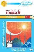 Cover-Bild zu Türkisch ohne Mühe A1-B2. Lehrbuch mit CDs / CD-ROM von Halbout, Dominique