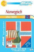 Cover-Bild zu Norwegisch ohne Mühe A1-B2. Lehrbuch mit CDs / CD-ROM von Liégaux Heide , Françoise