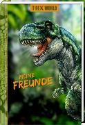 Cover-Bild zu Freundebuch - T-Rex World - Meine Freunde von Frey, Raimund (Illustr.)