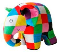 Cover-Bild zu Elmar: Plüsch-Elefant Elmar