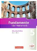 Cover-Bild zu Fundamente der Mathematik 5. Schuljahr. Schülerbuch. RP von Ahrens, Hans