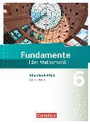 Cover-Bild zu Fundamente der Mathematik 6. Schuljahr. Schülerbuch. RP von Andreae, Kathrin