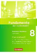 Cover-Bild zu Fundamente der Mathematik 8. Schuljahr. Serviceband. NW von Becker, Frank G.